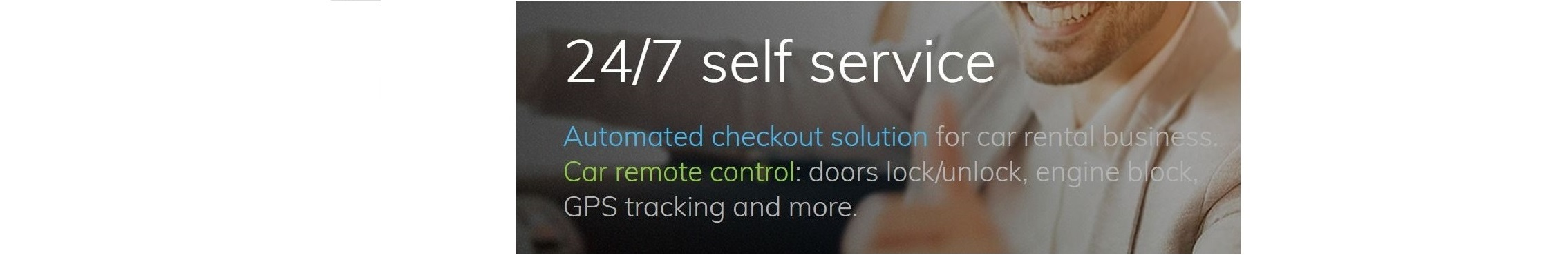 24/7 self-service for car rental customers